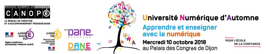 Retour à la page d'accueil du site Université Numérique d'Automne
